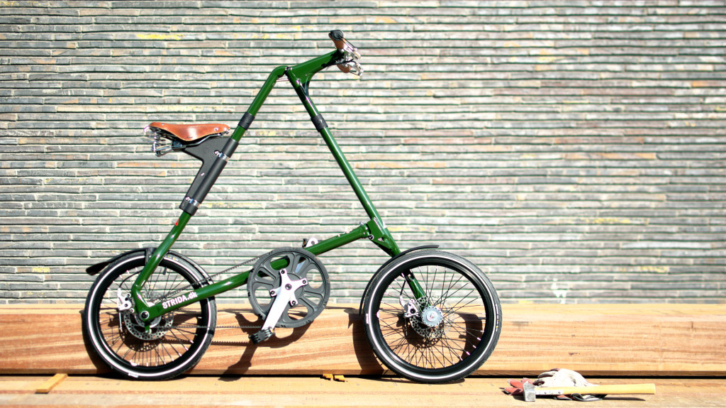 STRIDA Denmark foldable bike