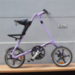 Used STRiDA LT lavender with 16'' wheels and leather seat and handles.