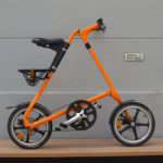 Brugt STRiDA LT orange alu rack second hand